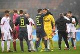 """Italijos taurė: """"Serie A"""" lyderiai su """"Serie C"""" vidutiniokais mušė baudinius"""
