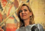 Ispanijos karaliaus duktė šaukiama į teismą byloje dėl finansinių nusikaltimų