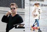 Nauji jausmai? Bradas Pittas poruojamas su Holivudo numylėtine