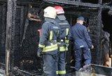 Didžiulis gaisras Prienuose: ant kojų sukeltos gausios ugniagesių pajėgos