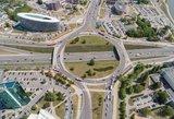 Dėmesio vairuotojai: keičiasi viena svarbiausių sostinės sankryžų