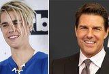 Bieberio įrašas sukėlė reakcijų audrą: nori sudoroti Cruise'ą