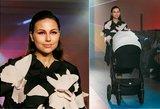 A. Kuzmickaitės podiumu žygiavo ir neseniai kūdikio susilaukusi J. Žižė