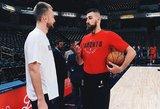 Paskelbtas geriausių NBA žaidėjų sąrašas – lyderis tas pats, vietas sužinojo ir lietuviai