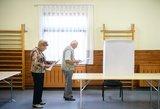 Seimo nario rinkimuose Zanavykų apygardoje balsavo ketvirtadalis rinkėjų