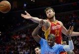 D-Mo arba Donatas Motiejūnas – aštuntas tarp didžiausią pažangą padariusių NBA krepšininkų