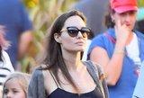 Angelina Jolie pirmą kartą prakalbo apie skyrybas: prireikė beveik metų