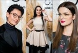 Garsios moterys tapo akinių modeliais: pristatyme – ir seniai matyti veidai