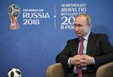 Rusija grįžta į sovietmetį: pasaulio futbolo čempionato kontrolė bado akis