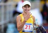 Gintarė Venčkauskaitė bėgo greičiausiai, bet liko 22-a