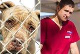 Garsusis veterinaras ašaras mato kasdien: mirdamas šuo ieško šeimininko akių