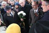 Lietuvos ambasadorius Rusijoje pagerbė sovietinių represijų aukas