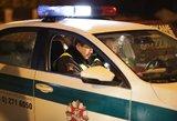 Iš tarnybos atleistas neblaivus avariją sukėlęs patrulis