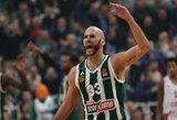 """Maestro Calathesas vedė """"Panathinaikos"""" į nuostabią pergalę Eurolygoje"""