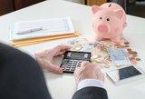 Siekiama apriboti bankų paslaugų kainas