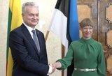 Nausėdos ir Estijos prezidentės susitikimo detalės: energetinis saugumas ir sankcijos Rusijai