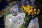 Sulaikytas vyras, kaltinamas dėl tragiškai pasibaigusio futbolininko skrydžio