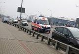 Penktadienio avarija Vilniuje: susidūrė persirikiuodama ir dar apkaltino kitą vairuotoją