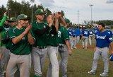 Lietuvišką beisbolo svajonę į šipulius sudaužė Izraelis