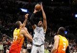 NBA lygoje – 53 minučių drama San Antonijuje