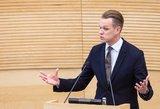 Landsbergis naujais ministrais nesidžiaugia: išrinkta dar prastesnė Vyriausybė