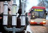 Sugedus kontaktiniam troleibusų tinklui, A. Goštauto gatvėje sutriko viešojo transporto darbas