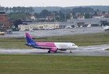 """Dėl techninių priežasčių atšauktas """"Wizz Air"""" skrydis iš Vilniaus į Tel Avivą"""