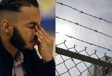 Žiaurus nusikaltėlis apsipylė ašaromis: jo vaikystė primena košmarą
