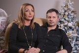 Gerda ir Andrius Žemaičiai Kalėdas švenčia su dviem naujais šeimos nariais
