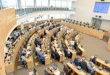Seimo narių skaičiaus mažinimą laiko rizikingu