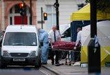 Londone – kruvina ataka: nužudyta moteris, dar penki asmenys sužeisti