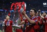 TOP-5: klubai, galintys šį sezoną triumfuoti Čempionų lygoje