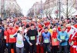 Įspūdingas renginys Vilniuje: sostinės senamiestį užplūdo tūkstančiai bėgikų