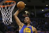 """NBA startas: Curry ir Duranto """"šou"""", Haywardo sugrįžimas"""