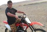Lucas Barronas tapo pirmuoju Dakaro ralio dalyviu, turinčiu Dauno sindromą
