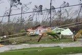 """Uraganas """"Dorian"""" pasiekė katastrofišką kategoriją: pradėta žmonių evakuacija"""