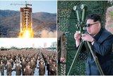 Pasaulis stebi įsitempęs: Šiaurės Korėjos lyderis spjovė į pažadus