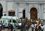 Šri Lankoje aukų skaičius padidėjo iki 359