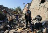 Ukrainos prezidentas paskelbė, kaip šalis nukentėjo dėl karinio konflikto