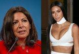 Po žiauraus Kim Kardashian apiplėšimo – Paryžiaus merės pasiteisinimas