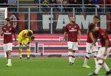 """""""Milan"""" užfiksavo blogiausią startą """"Serie A"""" lygoje per pastaruosius 81-erius metus"""