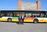 Šiauliuose ypatingi autobusai: supažindins su Lietuvos istorija