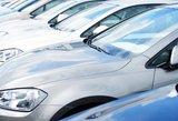 Naujų automobilių rinka pernai išaugo ketvirtadaliu