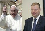 Žinutė popiežiui – Lietuva jūsų laukia. Ar sulauksime?