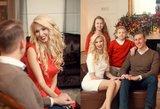 I. ir A. Stumbrų vaikams šios Kalėdos ypatingos – stengėsi būti itin paklusnūs
