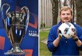 Futbolo laukiantis Ambrazevičius turi patarimą žiūrovams: tą supratau per visą gyvenimą
