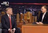 Iki ašarų: išskirtinis Mindaugo Stasiulio interviu su Donaldu Trumpu pakerės!