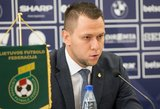 """LFF pasirašė sutartį su """"Anderlecht"""" – jaunimas seks Belgijos pavyzdžiu"""
