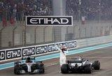 """Kaip sezone, taip ir paskutiniajame etape – triumfavo """"Mercedes"""""""