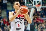 """Į NBA besitaikantis """"Ryto"""" talentas Sirvydis – apie du žygdarbius ir """"daug"""" tritaškių"""